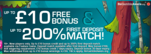 signup bonus mobile casino offer