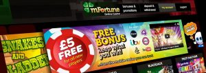 mFortune online casino games