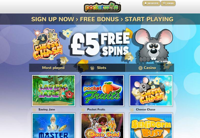 Free £5 Signup Bonus
